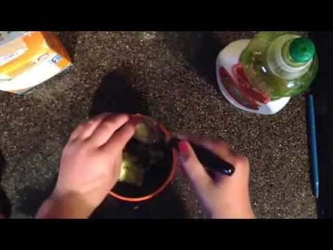 How to make clay with baking soda and dish soap!