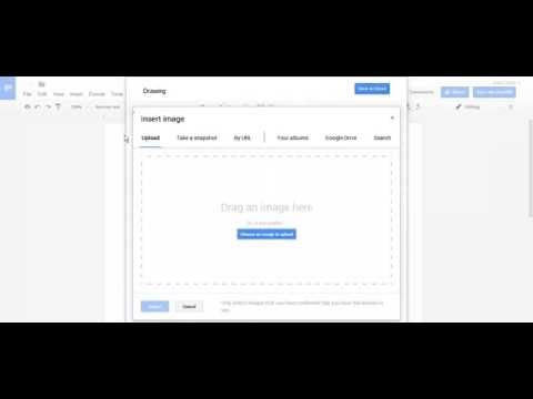 How to put text over an Image in Google Docs