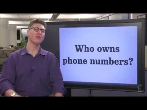Who owns phone numbers? Ask Laz