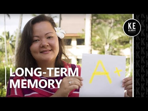 Turn information from class into long-term memory