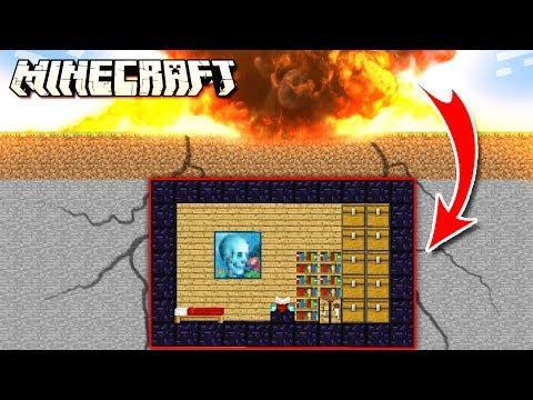Easy Underground NUKE PROOF Bunker in Minecraft!