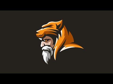 Tiger Man Character Design in Adobe Illustrator