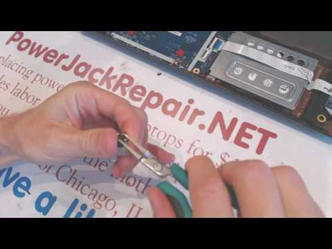 acer aspire e15 Laptop repair fix power jack problems broken dc socket input port