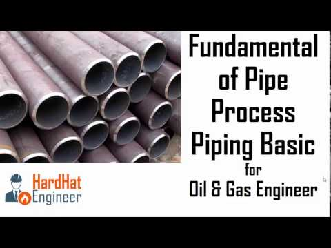 Fundamental of Pipe (Pipeline) for Oil & Gas Engineer - Revised