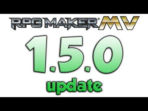 RPG Maker MV 1.5.0 Update in 85 Seconds
