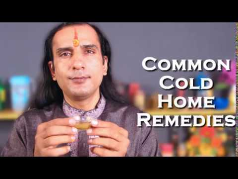 Common Cold Remedy-100% Working Fast Remedy for Cold Cough Infection Itchy Throat Ayurveda Treatment