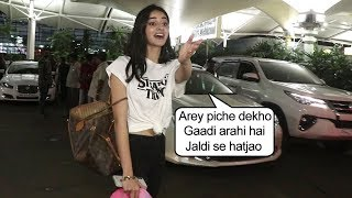 See Ananya Pandey's Sweet & Caring Nature SAVES Reporter From An Acc!dennt With A Car