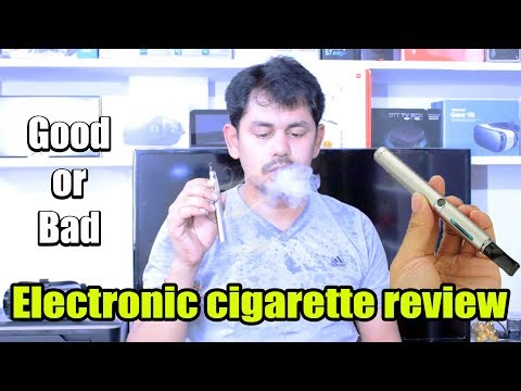 Electronic cigarette review || Good or Bad || in telugu || Tech-Logic