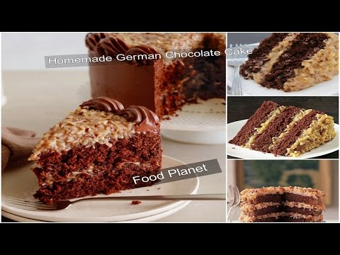 homemade German chocolate cake | Food Planet