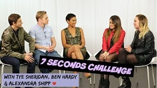 Download 7 SECONDS CHALLENGE ft. Alexandra Shipp, Ben Hardy & Tye Sheridan    K4U. Video