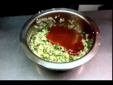 How to make Tomato and Onion Chutney-Indian restaurant cooking @ Abbots Langley Viceroy
