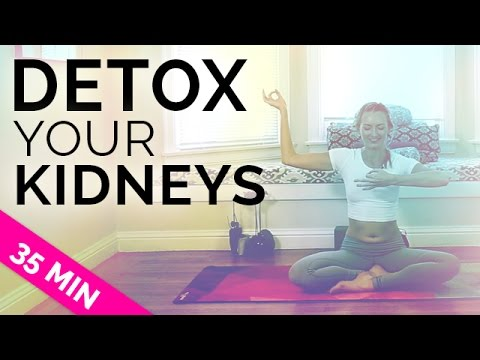 Kundalini Yoga Flow How to Detox Your Kidneys | Yoga for Kidney Stone Problems (35 Mins) All Levels