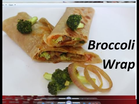 अब बच्चे टिफिन पूरा खत्म करके ही आयेंगे / tiffin recipe/Broccoli wrap recipe by Raks HomeKitchen