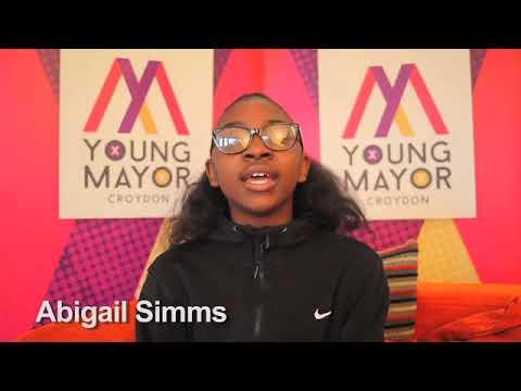 Croydon Young Mayor candidate - Abigail Simms