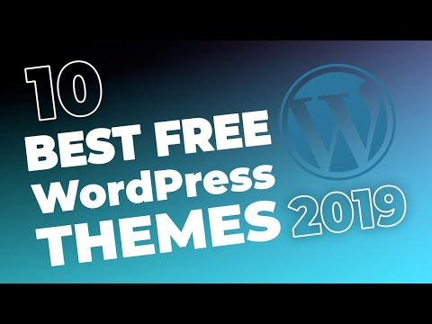 10+ Best Free WordPress Themes For 2018