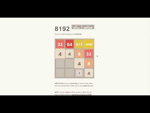 2048 - to 8192 tile so close and I saved 1/3