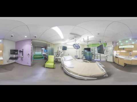 University of Iowa Stead Family Children's Hospital: 360º Virtual Tour