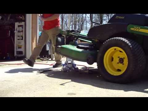 HOW TO SHARPEN 3 LAWN MOWER BLADES IN 4 MINUTES the