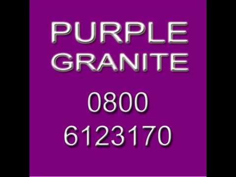 Granite Worktop Prices 0800 6123 170 Purple Granite Worktop Prices