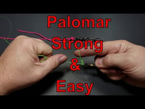 How To Tie The Palomar Knot - The Strong Easy Knot For Fishing