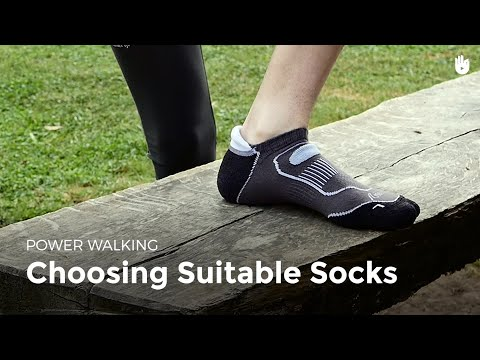 Choosing Suitable Socks | Power Walking