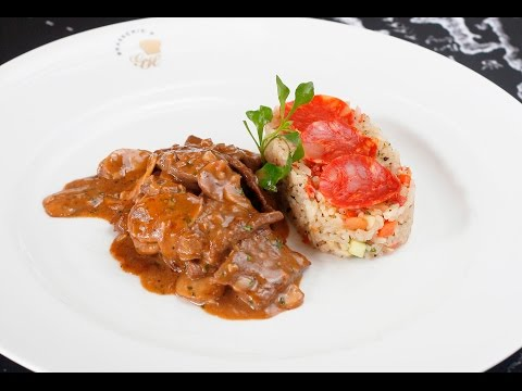 Beef Stroganoff - Brasserie 9
