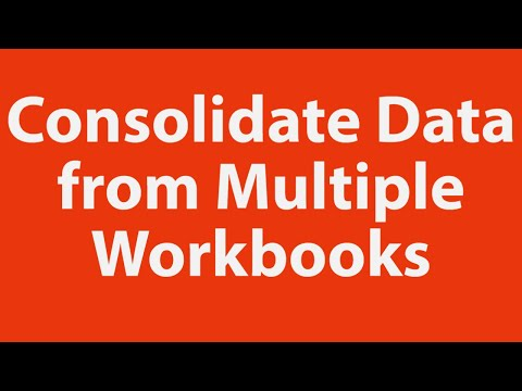 Consolidate Data from Multiple Excel Workbooks using VBA
