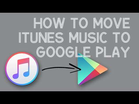 Import iTunes Music to Google Play