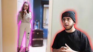 She's moving into my house & KICKING HIM OUT...