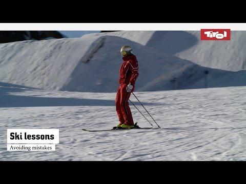Ski lessons: Avoiding mistakes | Online ski course
