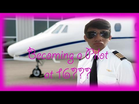 BECOMING A PILOT AT AGE 16???