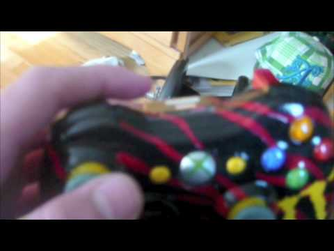Red Tiger Xbox 360 Controller