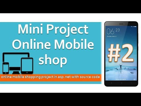 How to Create Online Mobile Shop project in ASP.NET using VB,Sql server