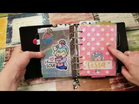 MYSTICS LITTLE GIFTS A6 RINGS PLANNER FLIP THOUGH