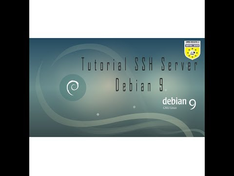 tutorial SSH Server Debian 9 (Indonesia Version)