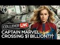 Download Will Captain Marvel Be Part of the Billion Dollar Club? - Collider Live #104 MP3,3GP,MP4