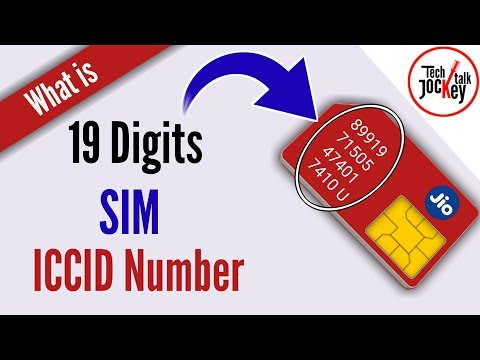 SIM Card Details | What is SIM ICCID Number | 19 Digits SIM Number Explain and Information in HINDI