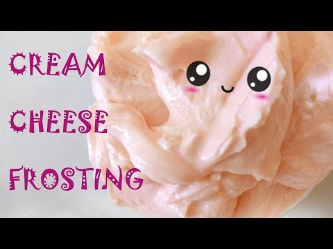 How To Make Cream Cheese Frosting/ Marzipan Candies