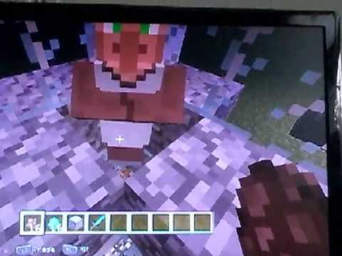 How to make a baby villager in PlayStation edition