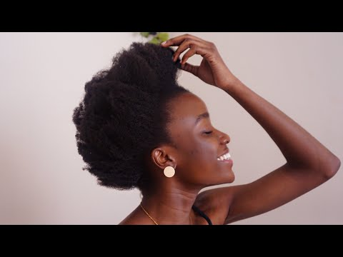 HOW I REFRESH MY AFRO  4C NATURAL HAIR