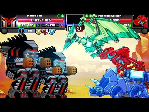 Dino Robot Corps | Super Mechs | Fast Fights - Full Game Play - 1080 HD