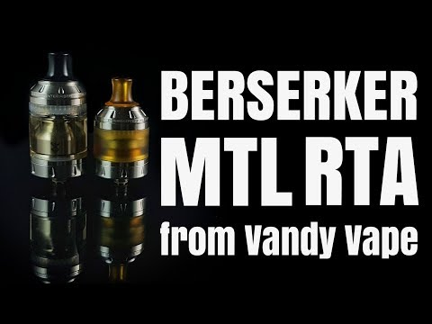 the BERSERKER MOUTH TO LUNG RTA Review - oh it's good
