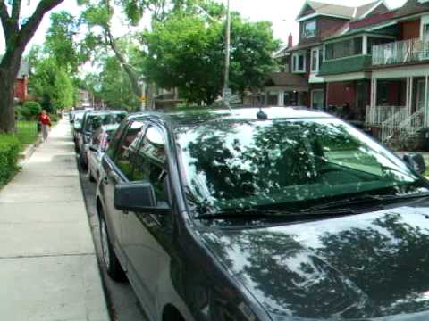 Parking Permits - Toronto - Who needs them.....park anywhere you want!