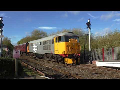 (HD) Class 31 60th Anniversary gala at the Nene Valley Railway - 14/10/17