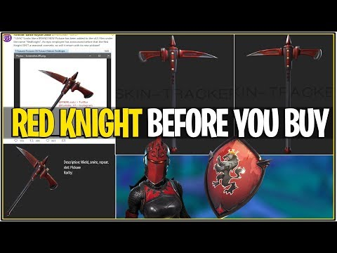 *NEW* Fortnite: RED KNIGHT