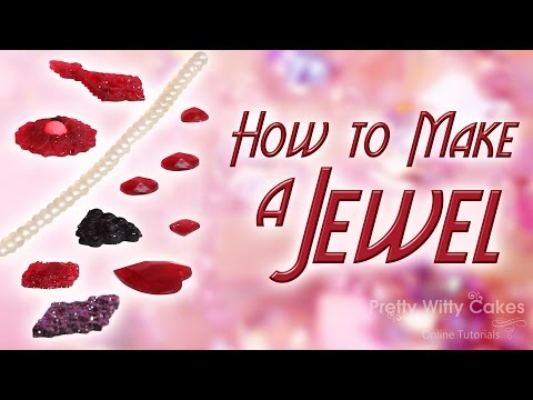 How to Make an Edible Jewel - Pretty Witty Cakes