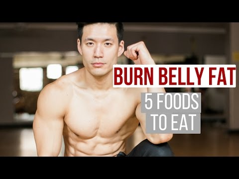 Eat these 5 foods to burn belly fat