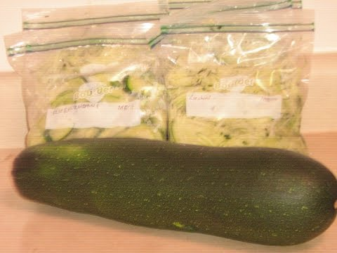How to Freeze Zucchini (Two Methods)