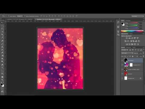 Photoshop Tutorial | Valentine's Day Poster