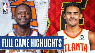 KNICKS at HAWKS | FULL GAME HIGHLIGHTS | February 9, 2020